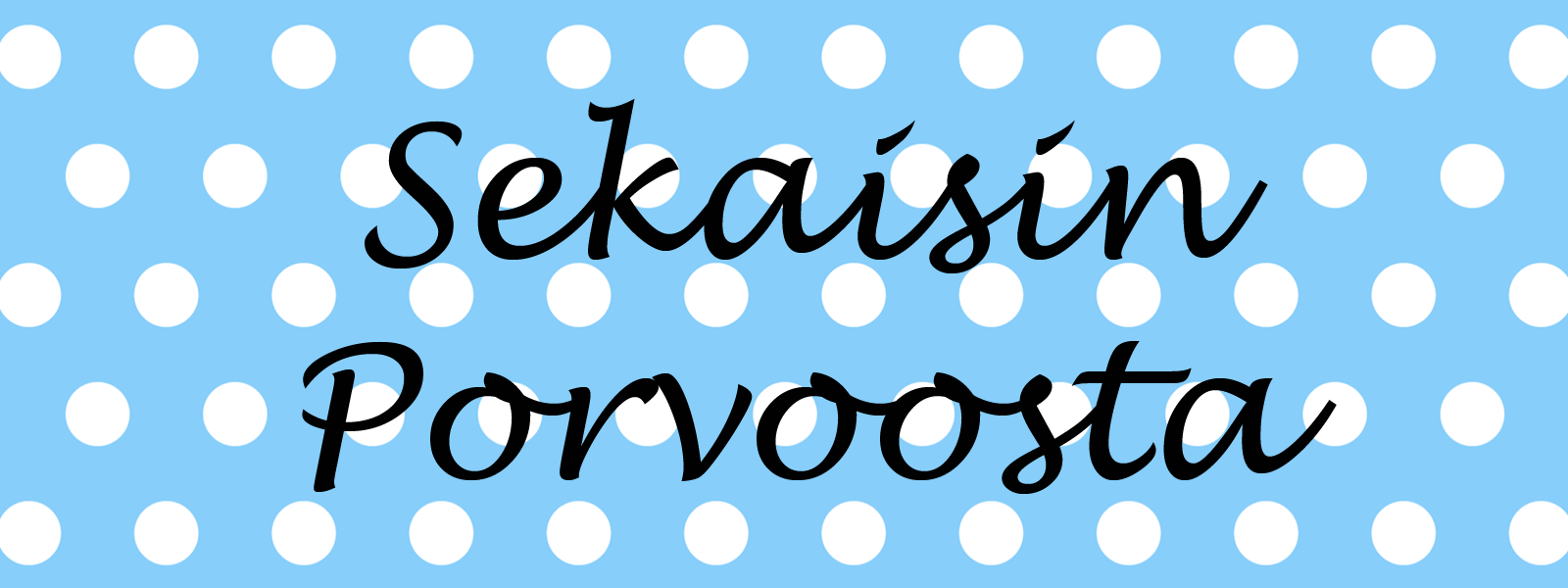 Sekaisin Porvoosta logo